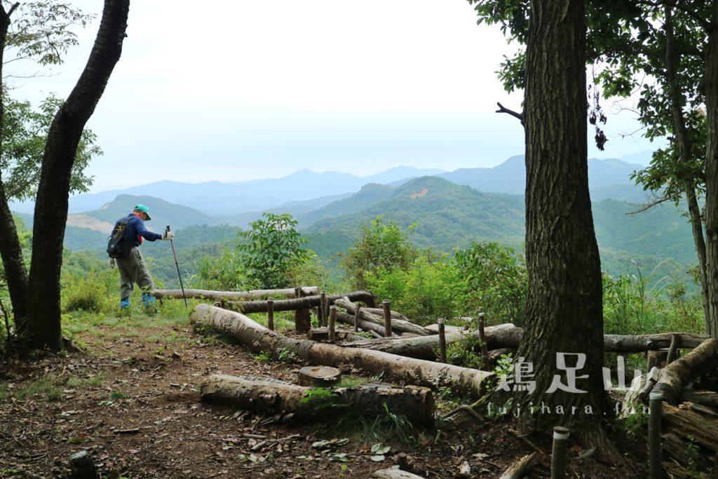 たくさんのルートが楽しめる 鶏足山②(珪石山→ファミリーコース)/茨城県(17年9月)